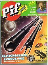 B8- Pif N°551 Le Sport et les enfants par Michel Hidalgo