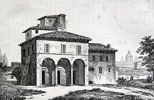 Rom Palazzo Caprini Roma Rome 1836 Casa di Raffaello Haus Raffael Raphael