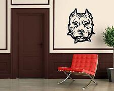 Wall Stickers Vinyl Decal Animal Hound Dog Bulldog Pitbull Pet ig1524