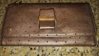 See By CHLOE  Copper Metallic Leather Wallet PreOwned