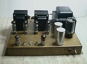 VINTAGE TUBE TYPE STEREO POWER AMPLIFIER