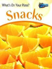 Snacks (What's on Your Plate?)-ExLibrary