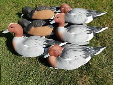 Duck Decoys Set of 6 GHG Pro Grade Wigeon 4 cocks 2 hens  Wildfowling