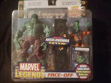 Marvel Legends Face Off Hulk vs Leader