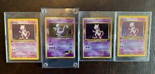 Collection of 1st Edition Base Set MewTwos