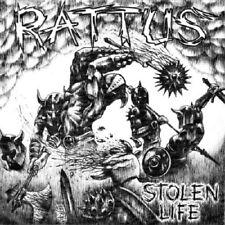 RATTUS - STOLEN LIFE - CD - OFFICIAL PRESSING - HARDCORE PUNK  - Terveet Kädet
