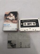 MADONNA Like A Virgin Cassette 1984 Japan PKG-3056