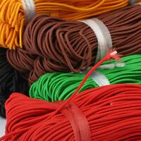 Elastic Strap Earloop Cord Elastic Loop Ear Tie Rope Handmade DIY String Bands for Crafting Hanging Sewing White, 2.8mm,150M