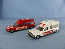 Jet-car de NOREV lot MERCEDES ambulance SAMU 1/43 made in France DIE CAST MODEL