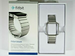 Fibit Blaze Stainless Steel Band & Frame, Large, WAS $129.99