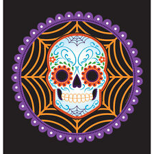 Halloween Day of the Dead Plastic Tablecover