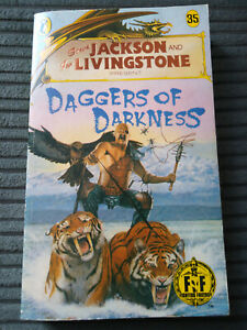FIGHTING FANTASY 35 DAGGERS OF DARKNESS 1ST ED BRONZE DRAGON G/VG COND NICE A.S.