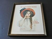 Vintage Reproduction Print of May 1909, Ladies Home Journal Magazine Cover.