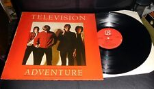 TELEVISION Adventure NM Elektra Tom Verlaine Richard Lloyd Days red labels GLORY