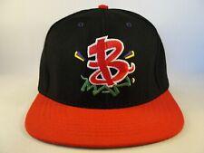 Brotha Man Vintage Snapback Hat Cap Black Red