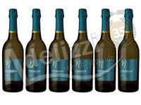 6 Bottiglie PROSECCO PONTE EXTRA DRY DOC Treviso CL. 75 D.O.C. Spumante Italiano
