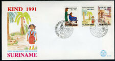 SURINAME E151 FDC 1991 - Kindertekeningen