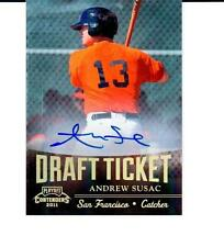 2011 Playoff Contenders Draft Ticket Autographs #DT20 Andrew Susac - Giants Auto