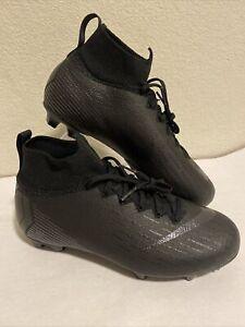 Nike Jr Mercurial Superfly 6 Elite FG ACC AH7340-001 5.5Y / Women's 7 Black