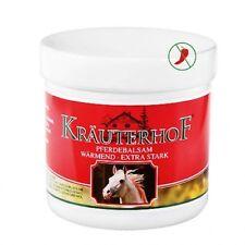 NATKO KRAUTERHOF WARMING HORSE OINTMENT MASC KONSKA SILNIE ROZGRZEWAJACA 250 ML