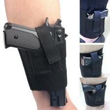 Concealed Carry Ankle Leg Pistol Gun Holster For Pouch Universal Gun Case Q