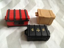 Playmobil spares 3 x trunks/ chests