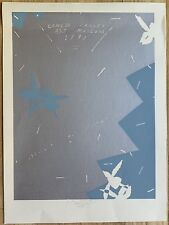 BILLY AL BENGSTON Original Signed Numbered Color Screenprint 1979 Ed Ruscha