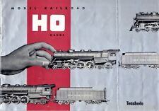 catalogo TENSHODO Model Railroad HO Gauge 1955 First Edition Brass Jap.   E  bb