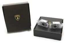"""Genuine Lamborghini Huracan Door Welcome Lamps- """"Lamborghini Shield"""" Design"""