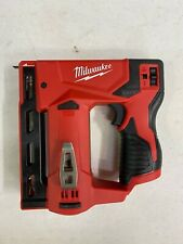 Milwaukee M12 3/8 in. Crown Stapler 2447-20 (Tool Only) - NEW