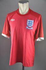 England Trikot 2010 Gr. L 42  Umbro Jersey WM EM rot Shirt Away South Africa