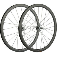 700C Clincher Carbon Wheelset 38mm Fixed Gear Carbon Wheels Track Single Bicycle