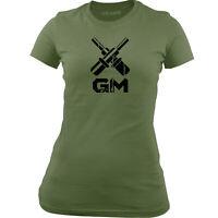 Women's Officially Licensed Navy Gunner's Mate (GM) Rating Badge T-Shirt