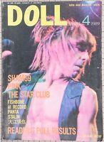 SHAM69 FISHBONE IGGY POP & ANDY McCOY THE CURE XTC Japanese Magazine DOLL 1989
