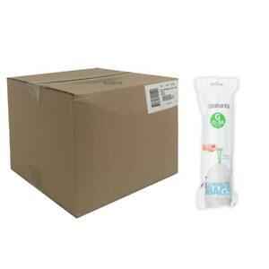 Brabantia Bin Liners Boxed Dozen Deal Packs 120 240 Bags