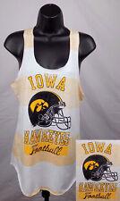 Iowa Hawkeyes Shirt Girls Junior Medium (7 - 9) Tank Top Shirt New ST95