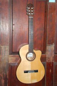 Cordoba G K Studio Cutaway Nylon Acoustic-Electric Flamenco Classical Guitar HSC