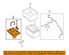 FORD OEM 05-14 Mustang-Battery Tray AR3Z10732B