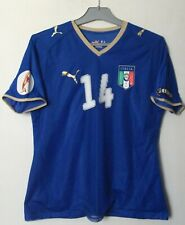 Italy National Team Home Football Womens Match Jersey Shirt #14 Alice Parisi