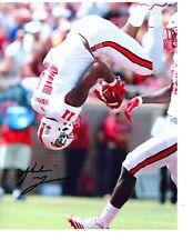 Jakobi Meyers NC State Wolfpack signed autographed 8x10 football photo h