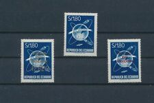 LM11282 Ecuador overprint faro de colon fine lot MNH