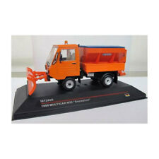 """IST 214524 Multicar M25 """"Snowplow"""" orange BJ 1980 Maßstab 1:43 NEU! °"""