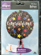 Brand New Anagram Congratulations Foil 18 Inch Balloon