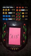 "MILLS ANTIQUE SLOT MACHINE AWARD BIB LARGE WINDOW REPRO 2/4 VAR PAYOUT ""A13"""