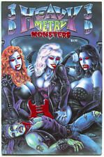 HEAVY METAL MONSTERS 3-D #2, VF/NM, 1993, Scott Jackson, more Horror in store