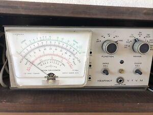 Heathkit IM-28 VTVM Heath Vacuum Tube Voltmeter