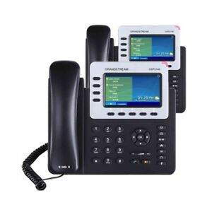 2 New Grandstream GXP2140 phones with Free Virtual PBX