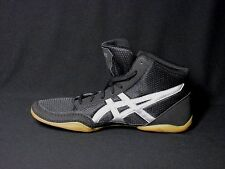 Asics Matflix 5 J504N Black Silver Wresting Shoes New Men's 10M