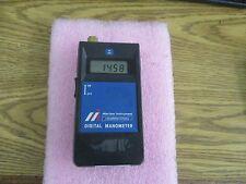 Meriam Instruments Model: A0030P Portable Digital Manometer<