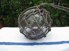 Japanese Glass Fish Net Float - Light Purple- Medium